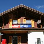 September 2015: Bahnhof Preda (Aufnahme vom September 2011)