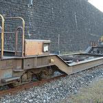 Schweizer-Eisenbahnen RhB Güterwagen Sb-v - 7718