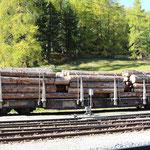 Schweizer-Eisenbahnen RhB Güterwagen Sp-w - 8282