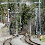 Schweizer-Eisenbahnen - Bahnhof Lüen-Castiel