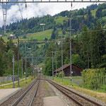 Schweizer-Eisenbahnen - Bahnhof Rodels-Realta