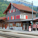 Schweizer-Eisenbahnen - Bahnhof Grüsch