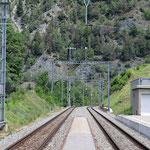 Schweizer-Eisenbahnen Bahnhof Grengiols
