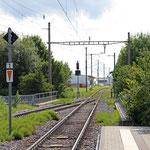 Schweizer-Eisenbahnen - Bahnhof Tägerwilen-Gottlieben