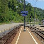 Schweizer-Eisenbahnen - Bahnhof Lampenberg-Ramlinsburg
