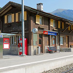 Schweizer-Eisenbahnen - Bahnhof Seewis-Valzeina