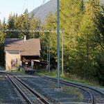 Schweizer-Eisenbahnen - Bahnhof Carolina