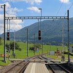 Schweizer-Eisenbahnen Bahnhof Crémines