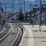 Schweizer-Eisenbahnen - Bahnhof Rothenthurm