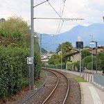 Schweizer-Eisenbahnen - Bahnhof Magliaso Paese