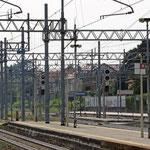 Bilder Bahnhof Monza (Aufnahme vom September 2016)