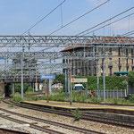Bilder Bahnhof Monza (Aufnahme vom Mai 2015)