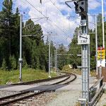 Schweizer-Eisenbahnen Bahnhof Surovas