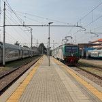 Schweizer-Eisenbahnen - Bahnhof Bergamo