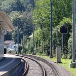 Schweizer-Eisenbahnen - Bahnhof Thalbrücke