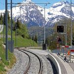 Schweizer-Eisenbahnen - Bahnhof Bugnei