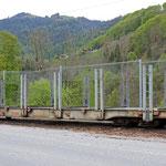 Schweizer-Eisenbahnen RhB Güterwagen Spg - 7608