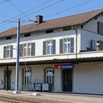 Schweizer-Eisenbahnen Bahnhof Oensingen