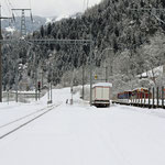 Schweizer-Eisenbahnen - Bahnhof Rueun