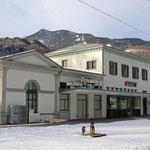 Schweizer-Eisenbahnen Bahnhof Bad Ragaz