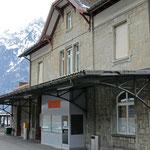 Schweizer-Eisenbahnen Bahnhof Näfels-Mollis