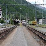 Schweizer-Eisenbahnen - Bahnhof Bever