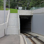Schweizer-Eisenbahnen Bahnhof St. Gallen Riethüsli