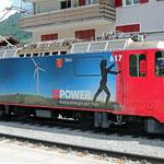Schweizer-Eisenbahnen - Ge 4/4 II * 617