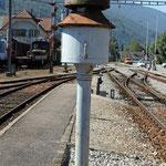 Schweizer-Eisenbahnen Bahnhof Balsthal