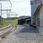 Schweizer-Eisenbahnen - Bahnhof Muolen