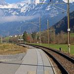 Schweizer-Eisenbahnen - Bahnhof Luchsingen-Hätzingen