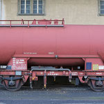 Februar 2019: Wassertankwagen der SBB im Bahnhof Schwyz. (Aufnahme vom September 2016.)