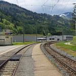 Schweizer-Eisenbahnen Bahnhof Fideris