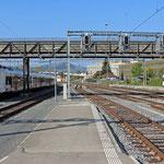 Schweizer-Eisenbahnen Bahnhof Delémont