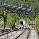 Schweizer-Eisenbahnen - Bahnhof Oberdorf SO