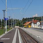 Schweizer-Eisenbahnen Bahnhof Hauptwil
