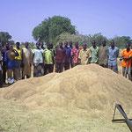 Lycée Bethléhem Piéla, Burkina Faso - Sand sammeln - aus 2008