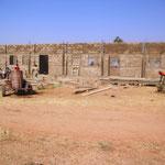 Lycée Bethléhem Piéla, Burkina Faso - Zweites Gebäude im Bau Stand Dezember 2011