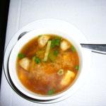 ビビンバ(撮り忘れ!)に味噌汁が付きます。久しぶりの味噌汁は実に美味しかった。。。