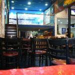 ボカ・ジュニアのオフィシャル・カフェでビールを飲みました。
