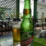 キューバのビール、クリスタル。