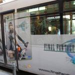ファイナル・ファンタジーのバス発見!