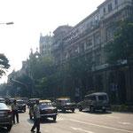ムンバイの街ももうすぐ見納め。