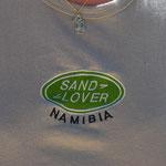 ご当地Tシャツ第1号をナミビアでゲットしました~。
