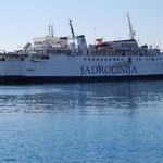この船に乗ってアドリア海クルーズに出かけます。