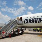 しかしCubana Airに乗るには度胸が必要です。