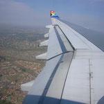 いよいよアフリカ大陸に初上陸!