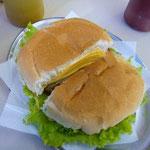 のりのりはハンバーガー。