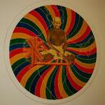 ここはガンジーが最後の日々を過ごしたおうち。今は様々なアーティストの作品が展示してあります。
