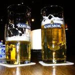 夜はやっぱりビール!